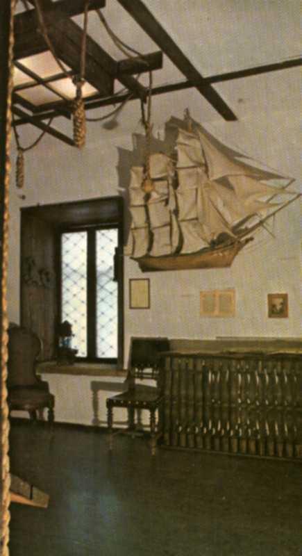 Феодосия. Дом-Музей А.Грина.  Кают-компания клипера